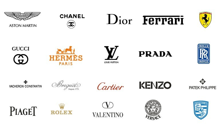 Free collection of vector international fashion brands for International decor brands