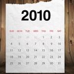 Realistic Paper Calendar PSD