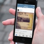 iOS 7 Instagram App Resign PSD