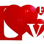 Vector Creative Red Love Design