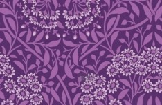 Vector Small Flower Pattern Background 02