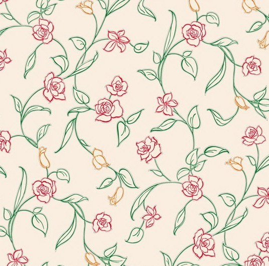 Bed sheet patterns texture - Free Vector Small Flower Pattern Background 04 Titanui