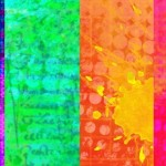 4 Colorful Abstract Splash Texture Background