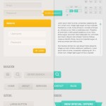 Mellow Web UI Kit PSD