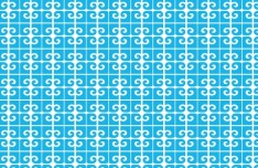 Seamless Clean Floral Pattern Background Vector 04