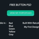 5 Colors Web Button Template PSD