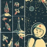 Retro Aeronautics and Astronautics Illustrations
