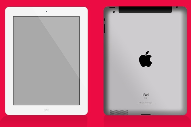 iPad-Front-and-Back-Mockup-PSD Template App Mobile Psd on for educational, profile page design, online store design, create new, support page, home screen, marketing playbook, organizational chart,