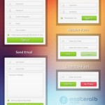 Creative Form UI Design PSD