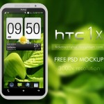 High Resolution HTC One PSD Mockup