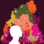 Abstract Paint Splash Vector Illustration 01