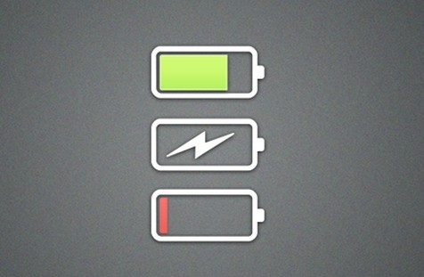 Free Flat Battery Icons