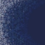 Elegant Snowflakes Background For Christmas Vector 01