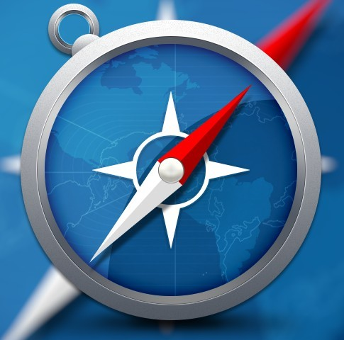 Free Realistic Safari Browser Icon PSD - TitanUI