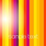 Bright Gradient Color Stripes Background Vector 04