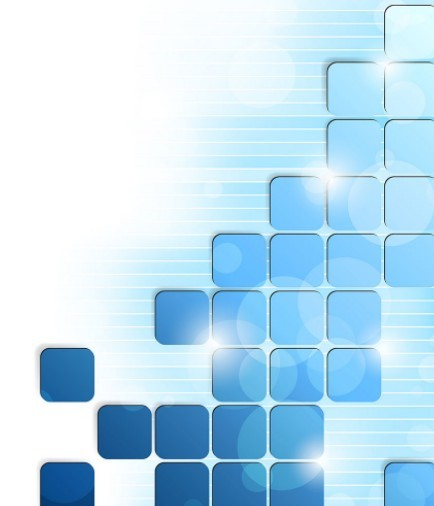 Free Modern Abstract Blue Boxes Background Vector - TitanUI