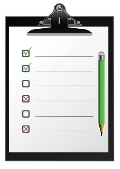 Checklist Template Psd Checklist Clipboard Template Vector 01