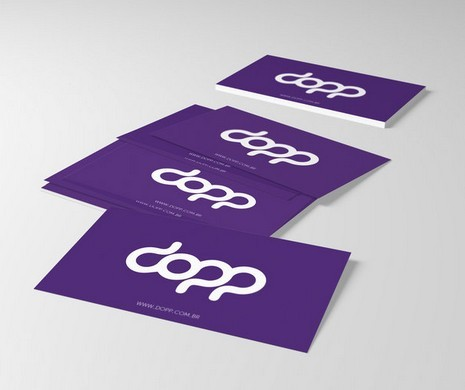 Purple business cards psd best business cards for Purple psd