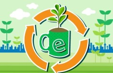Vector Illustration of Green Energy Concept For Environmental Protection 02