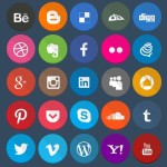 Geekly – 40+ Flat Styled Web Icons