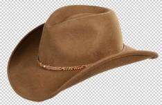 Brown Cowboy Hat PSD