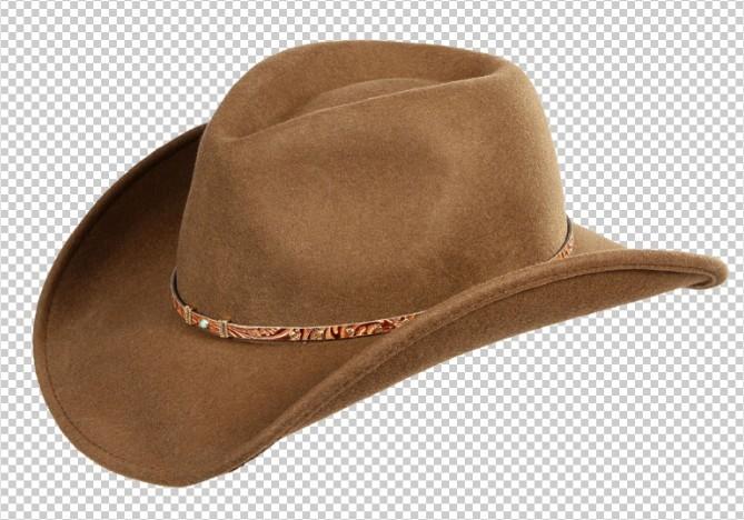 Free Brown Cowboy Hat PSD