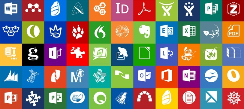 Free Office And Productivity Windows 8 Modern Tile Set