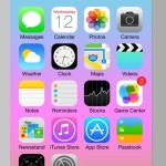 iPhone 6 & iOS 7 GUI Kit PSD