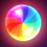 One Layer Style Colorful Spinner PSD