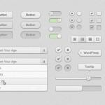 Crisp Web UI Kit PSD