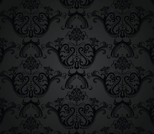 Seamless Flower Background Free Seamless Charcoal Vintage