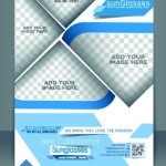 Creative Business Flyer Brochure and Magazine Cover Vector 05