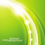 Bright Abstract Circles Background Vector 02