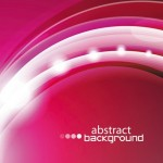 Bright Abstract Circles Background Vector 03