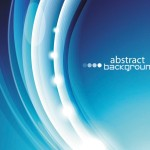 Bright Abstract Circles Background Vector 04