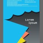 Corporate Business Brochure Design Vector 01