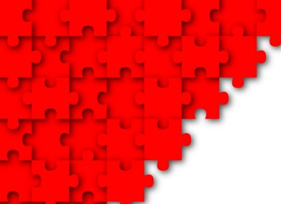 Free Red Puzzles Background Vector 01 Titanui