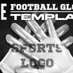 Football Gloves PSD Mockup Template