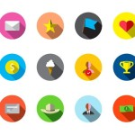 Guava Reward Icon Set Vector