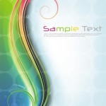 Fantastic & Colorful Abstract Background Vector 01