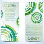 Set Of Vector Futuristic Banners 03