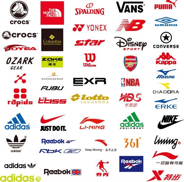 Famous Sports Brand Logos And Names