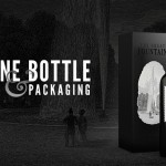 Wine Bottle & Packaging Mockup PSD
