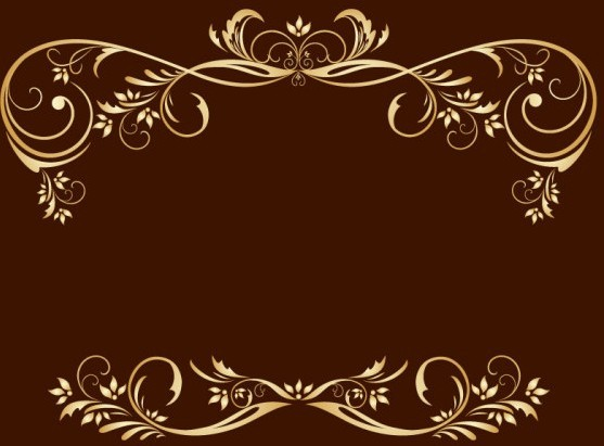 Gold Png Vector Gold Royal Floral Frame Vector