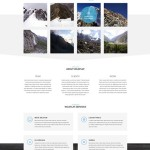 WildFlat – Creative Flat Web Template PSD