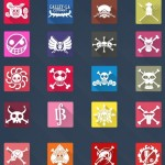 20 Long Shadow One Piece Icons Vol.1