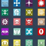 20 Long Shadow One Piece Icons Vol.2