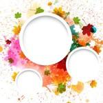 Colorful Paint Splash Vector Background 04