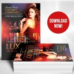 Luxury Nights Flyer Template PSD