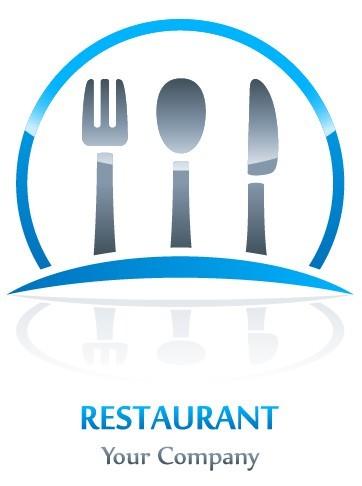 free creative restaurant logo design vector 01 titanui